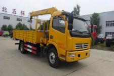 华通牌HCQ5082JSQGL5型随车起重运输车