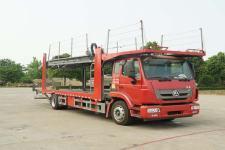 国五重汽单桥车辆运输车
