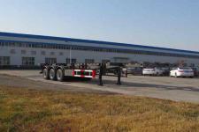 盛润12.4米34.4吨3轴高压气体长管骨架半挂车(SKW9401TGY)