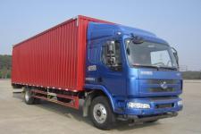 东风柳汽国五单桥厢式运输车160-200马力5-10吨(LZ5160XXYM3AB)
