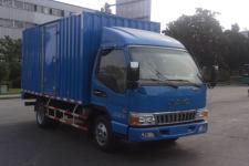江淮帅铃国五单桥厢式运输车116-152马力5吨以下(HFC5041XXYP93K1C2V)