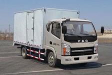 一汽凌源国五单桥厢式运输车87马力5吨以下(CAL5040XXYDCRE5)