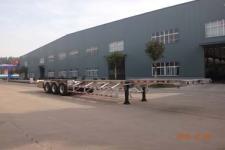 明航14米35.4吨3轴铝合金集装箱运输半挂车(ZPS9401TJZ)