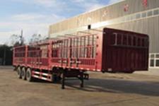 萬祥13米33.7吨3仓栅式运输半挂车