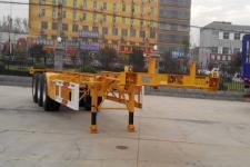 中集12.5米34吨3轴集装箱运输半挂车(ZJV9405TJZDY)