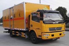 东风国五5米2腐蚀性物品厢式运输车