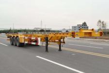 锣响14米34.4吨3轴集装箱运输半挂车(LXC9402TJZE)