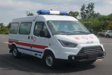 江铃特顺长轴救护车(监护型)品种多多