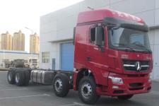 北奔国五前四后八货车底盘350马力0吨(ND1310DD5J7Z03)