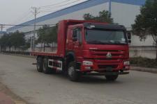 华威驰乐后双桥,后八轮平板自卸车国五280马力(SGZ3250PZZ5W43)