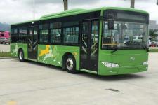10.5米金龙XMQ6106AGBEVL12纯电动城市客车