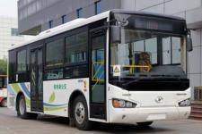 8.5米海格KLQ6850GEVT纯电动城市客车