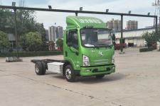 陕汽国五单桥纯电动货车底盘61马力0吨(SX1040EV331H)