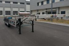 天明14米35吨3轴集装箱运输半挂车(TM9400TJZDL1)