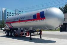 程力威13.6米24.6吨3轴液化气体运输半挂车(CLW9405GYQC)