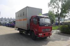 东风多利卡易燃气体厢式运输车4米2厢体现车促销