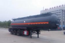 楚飞11米31.1吨3轴腐蚀性物品罐式运输半挂车(CLQ9404GFWD)