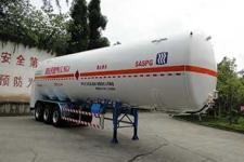 川13.1米23吨3轴低温液体运输半挂车(KQF9404GDY)