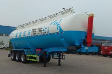 骏通9.7米31.8吨3轴中密度粉粒物料运输半挂车(JF9402GFLA)