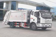解放J6压缩式垃圾车13607286060