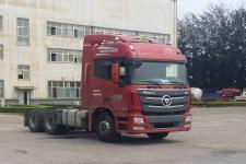 欧曼 6系超级卡车EST 6*4 430G马力 F12A铝 后桥459 12真空胎  最长10个月免息 首付12万就可以把车提走
