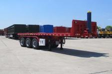 华骏8.5米31.7吨3轴平板自卸半挂车(ZCZ9400ZZXPHJJF)