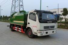 东风多利卡5.5+2型清洗吸污车