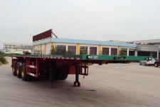 唐鸿重工8米34.6吨3轴平板半挂车(XT9402P)