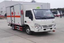跃进国五易燃液体厢式运输车厂家报价