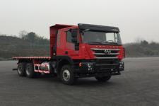 红岩牌CQ3256HTVG404B型平板自卸汽车