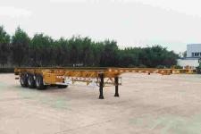 华骏14米34.4吨3轴集装箱运输半挂车(ZCZ9400TJZH)