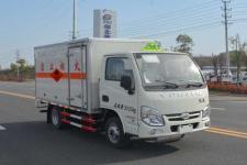 跃进国五3米2易燃液体厢式运输车
