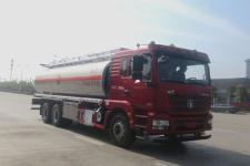 楚胜牌CSC5250GYYLS5型铝合金运油车