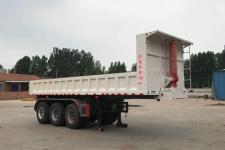 鸿盛业骏8米31.8吨3轴自卸半挂车(HSY9400ZHX)