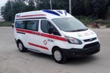 福特新全顺救护车(泰格警灯)运输型监 护型程力厂家直销话 17386577715