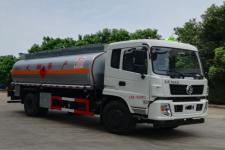 国五东风专底运油车