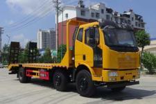 国五解放小三轴平板运输车