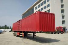 中基华烁13米31.7吨3轴厢式运输半挂车(XHS9401XXY)