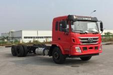 红岩国五前四后四货车底盘215马力0吨(CQ1256AMDG54-603)