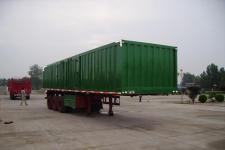 骜通10.5米25.1吨3轴厢式半挂车(LAT9330XXY)