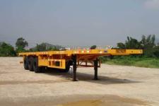 中集13米32.5吨3轴平板半挂车(ZJV9400JP)