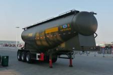 开乐9.8米32吨3轴下灰半挂车(AKL9401GXH)