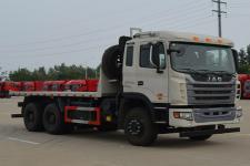 江淮后双桥,后八轮平板自卸车国五339马力(HFC3251P1K6E39S3V)