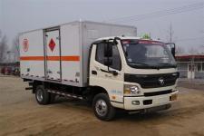 福田国五单桥厢式货车118-156马力5吨以下(BJ5049XRQ-A3)