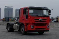 红岩单桥集装箱半挂牵引车350马力(CQ4186HTVG361C)