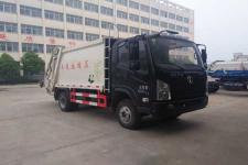 国五陕汽轻卡压缩式垃圾车  13797889952