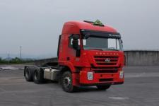 红岩牌CQ4256HTDG334U型危险品运输半挂牵引车