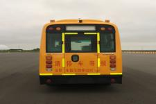 华新牌HM6570XFD5XS型小学生专用校车图片4