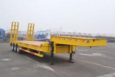 鸿盛业骏12.5米30吨3轴低平板半挂车(HSY9400TDP)