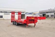 鸿盛业骏10.3米27.3吨3轴低平板半挂车(HSY9351TDP)